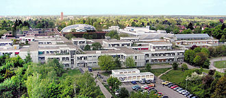 "Dahlem (Berlin) - ""Rost- and Silberlaube"" complex of the FU Berlin"