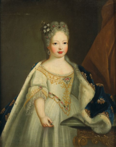 French School - Mariana Victoria of Spain, fiancée of Louis XV.png