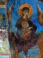Fresco of Virgin Mary and Christ Child (1389) at Church of Sv.Andreja.jpg