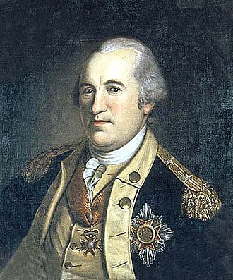 House Order of Fidelity - Friedrich Wilhelm von Steuben (1730–1794) wearing the order.