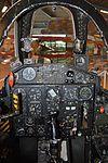 Front cockpit of Fouga CM.170R Magister 'MT13' (34278594464).jpg