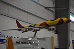 Frontiers of Flight Museum December 2015 093 (Braniff International Airways Douglas DC-8 model).jpg