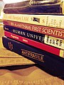 Fruits of a highly successful expedition to the library (8695350959).jpg