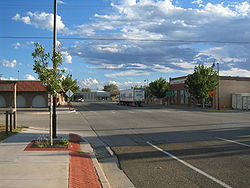 Downtown Fort Sumner in 2003