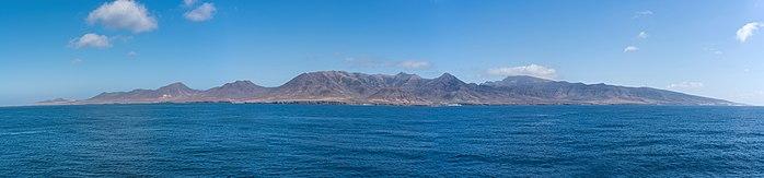 Остров Фуэртевентура Канарского архипелага