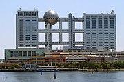Fuji TV headquarters and Aqua City Odaiba - 2006-05-03 edit