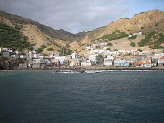 Furna (Brava) Settlement in Brava, Cape Verde