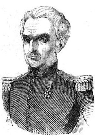 Amable de Courtais - Portrait from Charles Dupressoir, Causes célèbres de tous les peuples, première série, 1849