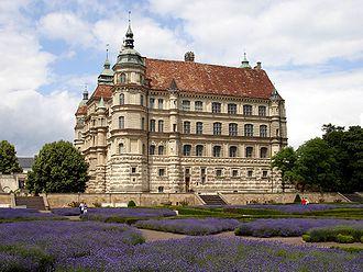 Güstrow - Image: Güstrow Schloss&Park
