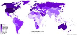 GDP PPP Per Capita Worldmap 2007 CIA factbook.PNG