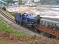 GWR 6023 King Edward II and Goodrington Sands (Geograph 5893905 by Chris Allen).jpg