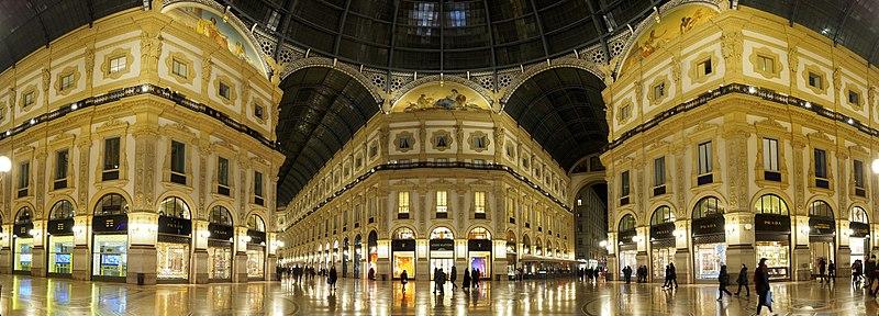 La Galleria Vittorio in Milan