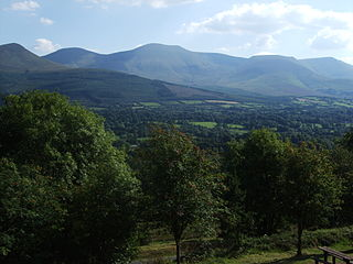Galtymore Mountain in Tipperary/Limerick, Ireland