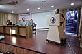Ganga Singh Rautela Delivers Speech - Iain Stewart Lecture on Communicating Geoscience through the Popular Media - NCSM - Kolkata 2016-01-25 9322.JPG