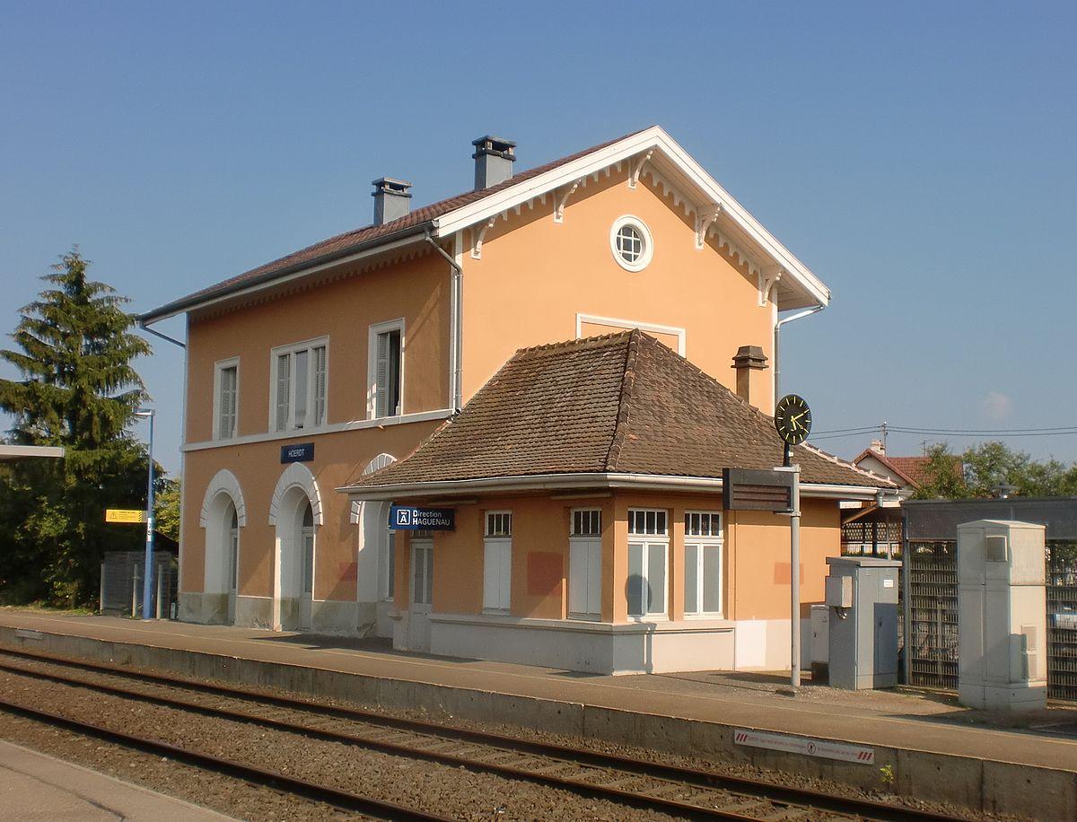 Gare de h rdt wikip dia for Art et maison figeac