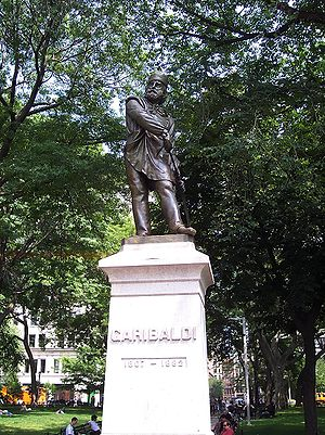 Washington Square Park - Statue of Giuseppe Garibaldi