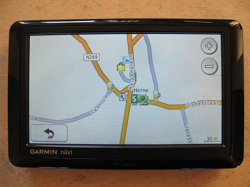 GPS Garmin nüvi by Anders Lageras