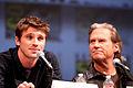 Garrett Hedlund and Jeff Bridges by Gage Skidmore.jpg