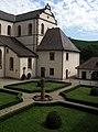 Garten des früheren Klosters Gengenbach, heute Hochschule Offenburg, Campus Gengenbach 1.jpg