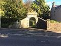 Gateway and gate to Talygarn, Brynsadler.jpg