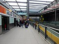 Gatwick Airport North Terminal shuttle transit arrival platform look north.jpg