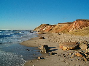 Gay Head Cliffs auf Martha's Vineyard