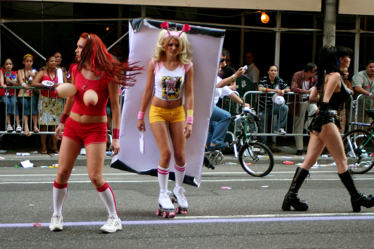 1280px Gay Pride Parade 2007 NYC 2 tagged as: #Josephine Baker #dancer #women of color