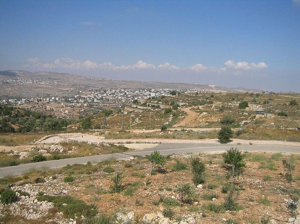 Gaza WestBank panorama