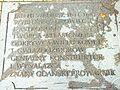 Gdańsk, tablica ku czci Jana Heweliusza przed pomnikiem astronoma.jpg