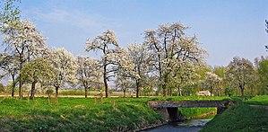 Alken, Belgium - Image: Gemeente Alken Herk en bloesems