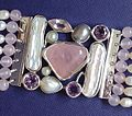 Gems and silver bracelet - detail.jpg
