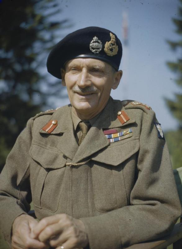 General Sir Bernard Montgomery in England, 1943 TR1040