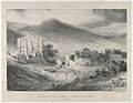 General View of Castle Ruins and of The Village of Saint-Necataire MET DP853796.jpg