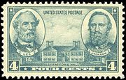 Robert E. Lee, de Stonewall Jackson e Stratford Hall, Issue Army of 1936