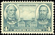 Robert E. Lee, Stonewall Jackson and Stratford Hall, Army Issue of 1936