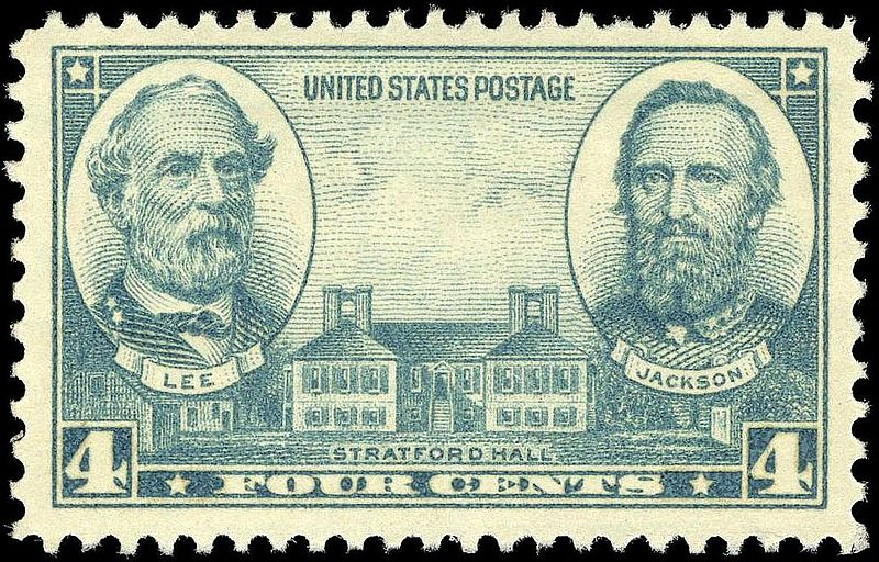 Generals Lee and Jackson-1937 Issue-4c.jpg