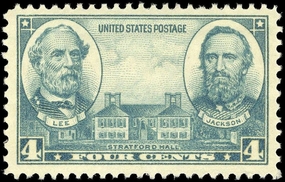 Generals Lee and Jackson-1937 Issue-4c