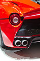Geneva MotorShow 2013 - Ferrari LaFerrari rear lights and exhaust pipe.jpg