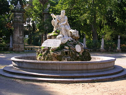 Genius of Palermo, the ancient patron of the city.