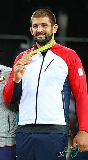 Geno Petriashvili - Petriashvili at the 2016 Olympics