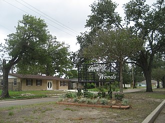 Gentilly Woods, New Orleans - Image: Gentilly Woods Sign Sept 2008