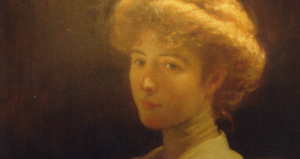 Githa Sowerby - Portrait of Githa Sowerby by George Percy Jacomb-Hood, circa 1912.