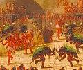 George Catlin - Bull Dance, Mandan O-kee-pa Ceremony - 1985.66.505 - Smithsonian American Art Museum.jpg