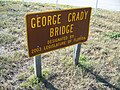 George Crady Bridge SP sign01.jpg