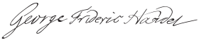 George Frideric Handel Signature.svg