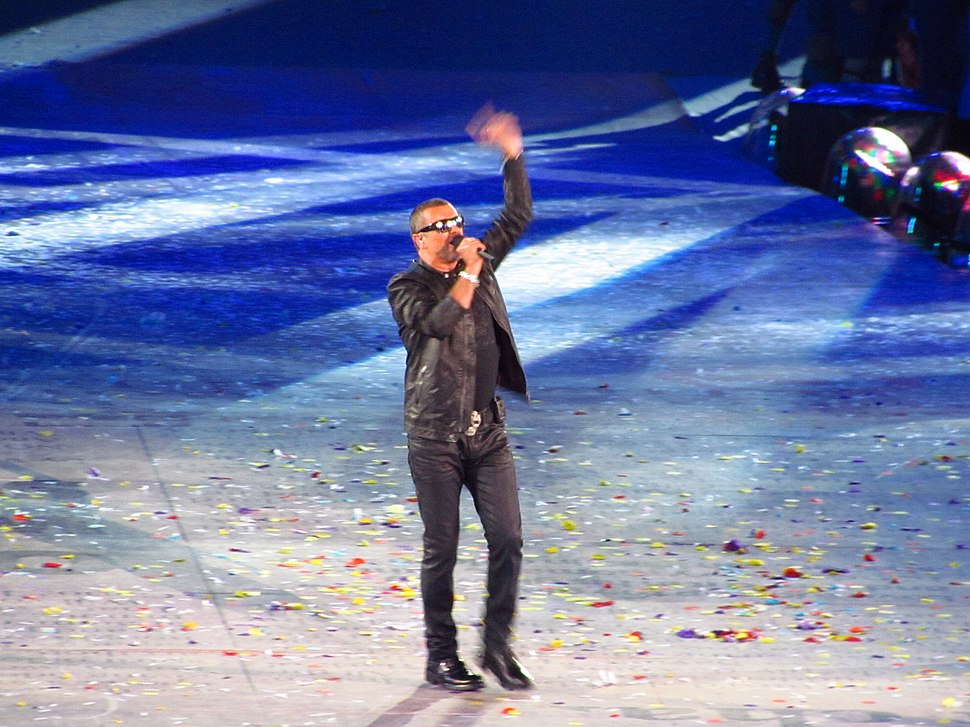 George Michael London Olympics 2012. by Rory