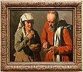 Georges de la tour, coppia di contadini che mangiano piselli, 1622-25 ca. 01.jpg