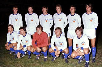 East Germany national football team - The team that played Argentina at La Bombonera of Buenos Aires, July 1977