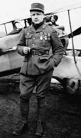 Gervais Raoul Lufbery - Gervais Raoul Lufbery, 1918