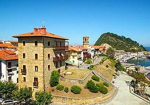 Pepita Embil - Embil's hometown of Getaria, Spain